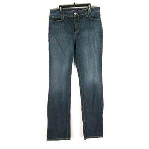 NYDJ straight leg denim jeans 31 x 31.5